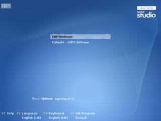 Screenshot Virutal Machine Installation