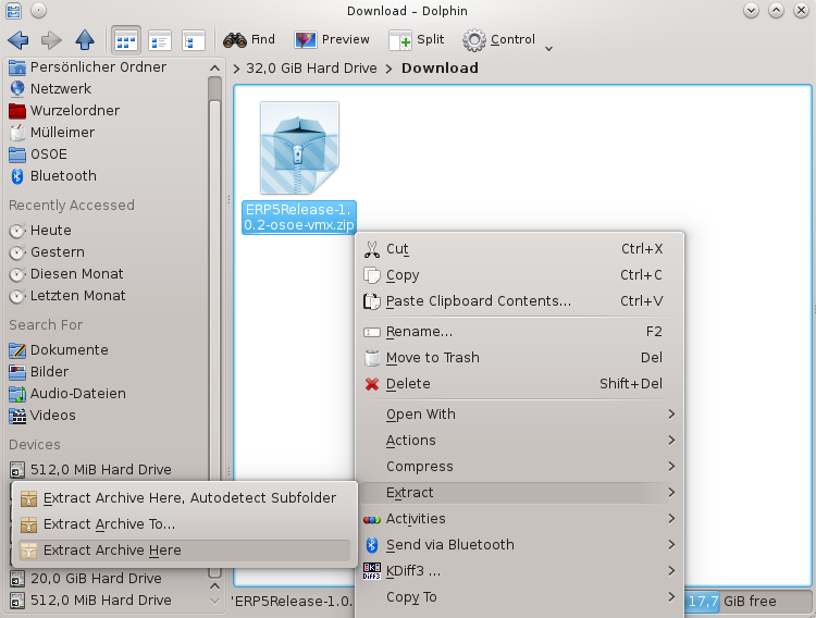 How To Try ERP5 On A Virtual Machine