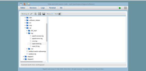 SlapOS | Open Source Cloud Deployment and Orchestration - Webrunner Log