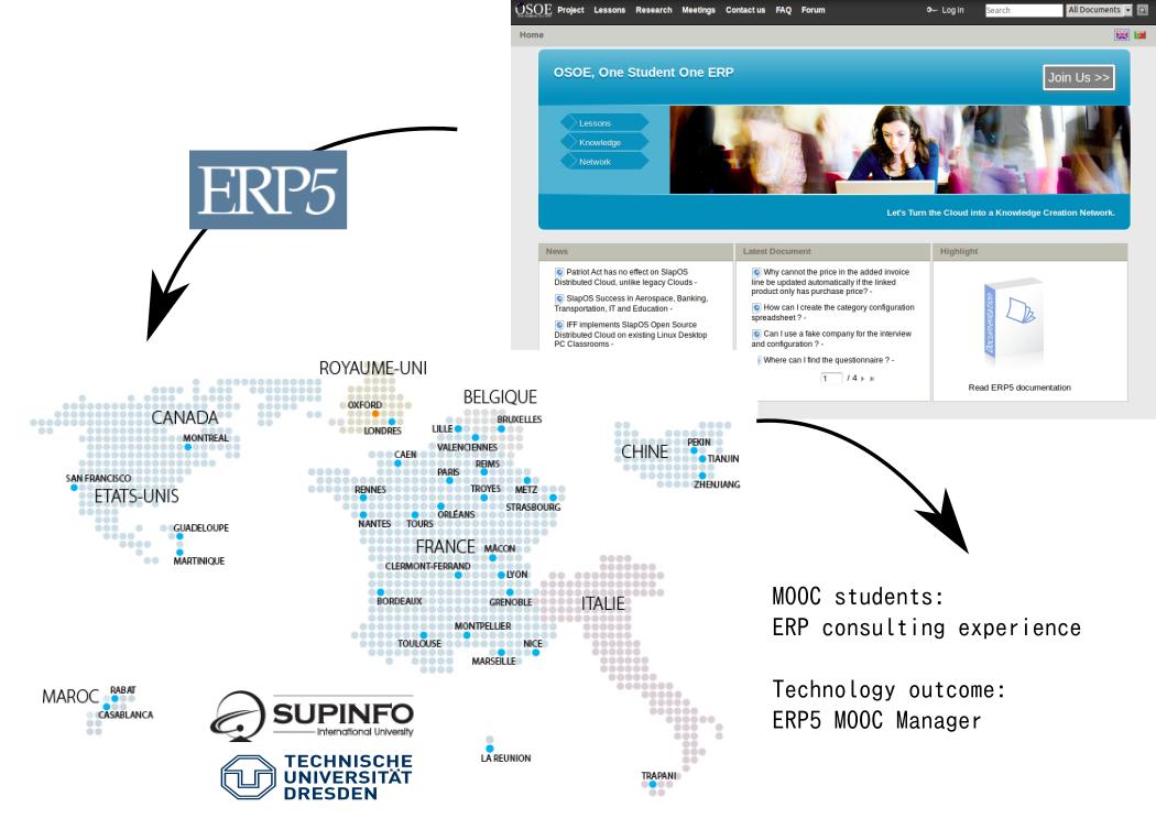 OSOE MOOC on ERP5