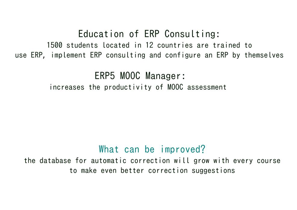 Outcome of OSOE MOOC