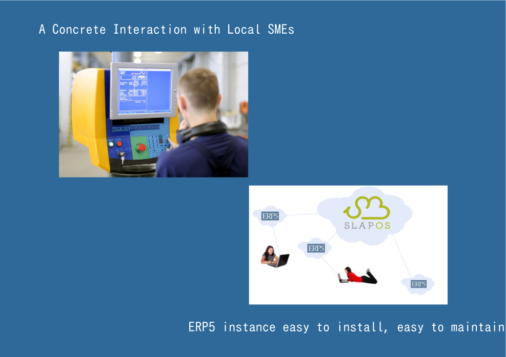 What is OSOE-Interaction with Local SMEs and ERP5 support