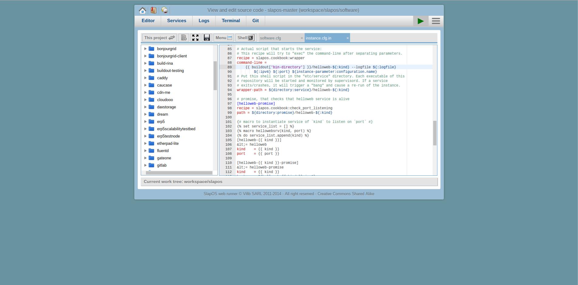 Extending Software Release - Webrunner Interface - Software Rebuild
