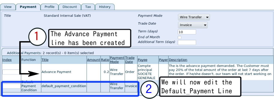 Additional Payments